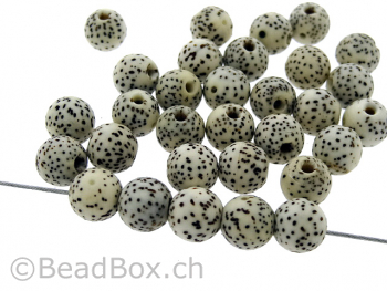 Lotus Bohdi Seed, Color: beige, Size: ±8mm, Qty: 10 pc.