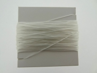 Nylon Thread elastisch, Color: crystal, Size: ±0.5mm, Qty:10 meter