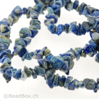 Lapis Lazuli, Color: Blau, Size: 18 mm, Qty: String
